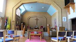 Picture inside Church